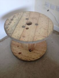 Small wooden cable reel £20