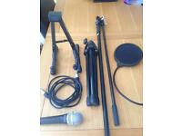 Microphone (plus accessories)