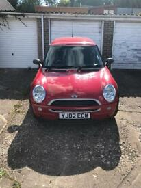 Mini One - Red (2002)