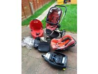 Quinny Buzz travel system with isofix base