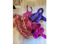 Free bundle clothes rainproof and onsie fleeces