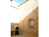 House for Sale in Spain, Valencia.Rustic style in village 10 km from beach,4 bedrooms,patio, terrace