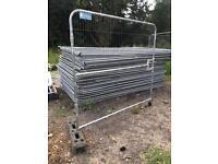 Heras fencing gate 2.1metres