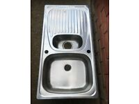Stainless steel sink never used