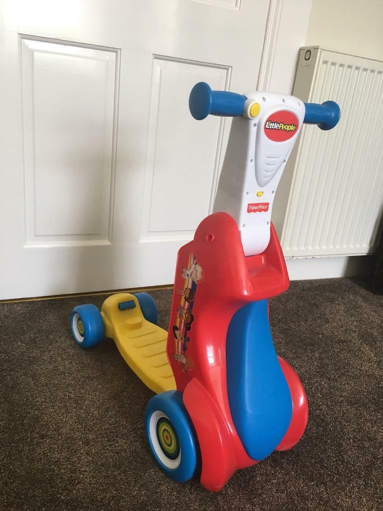 Fisher Price convertible scooter/quad