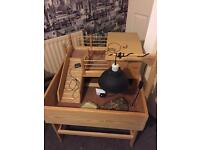 Tortoise Table & Accessories