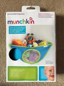 Brand new munchkin corner bath organiser