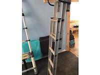 3 tier loft ladder