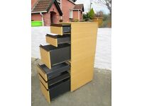 6 Drawer Office Filing Unit