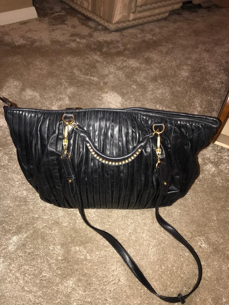 Designer handbag miu miu