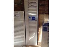 CENTRAL HEATING RADIATOR CENTERRAD Double Convector 450 mm high x 2000 mm long.