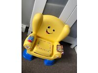 Laugh and learn fisher price chair