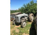 Ferguson TE20 Petrol TVO 1947 Tractor. Including many GENUINE accessories