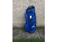 Blue mizuno cart bag