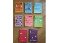8 BOOK SET by Louise Rennison - Near Perfect Condition - Ideal for a gift! REDUCED TODAY!