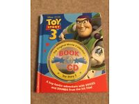 Disney Toy Story 3 book with CD