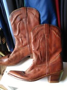 Clothing & Shoes - Men Oakville Vintage COWBOY BOOTS Made in Brasil Brazil MENS 10D NEW Heels