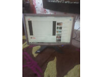 "for sale acer 19"" lcd widescreen computer monitor £10"