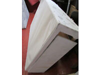 DOUBLE BED BASE WITH MATTRESS GOOD CONDITION FREE DELIVERY IN LIVERPOOL