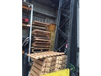Industrial Warehouse Pallet Racking Commercial Storage shelving uprights/ beams & woods for sale