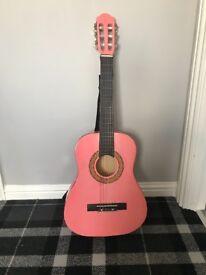 Pink beginners Guitar