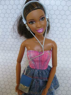 Barbie DOLL 1:6 scale Mini Stereo Radio CD PLAYER Working Out Walkman Headphone for sale  Shipping to India