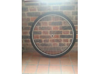 Bicycle front wheel 700c Trekking Expedition Hybrid City Bike quick release, possible swap