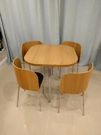 Ikea Fusion Dining Table & Chairs
