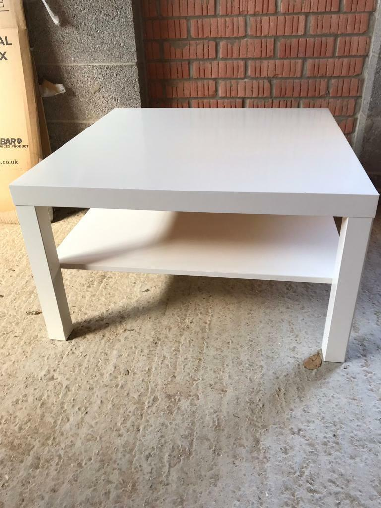 Coffee Table Ikea Lack White In Biggleswade Bedfordshire Gumtree