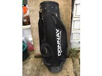 DONNAY INTERNATIONAL golf clubs carrying bag - sporting goods bargain