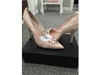 Lacey jewel heels