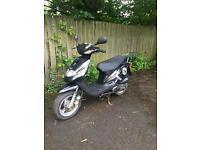 2007 TGB 50 Scooter Moped 2 Stroke, full mot £495