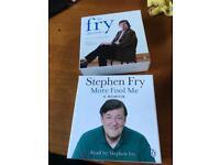 Stephen Fry audio books