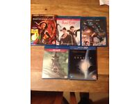 Various Dvd's and Blueray Dvd's