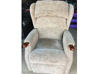 Orthopaedic Riser Recliner Armchair - great condition
