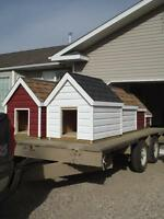 Brand New Fully Insulated Dog Houses for our Canadian Climate!