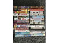 VHS tapes variety