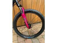 "Girls Carrera Luna 24"" wheel mountain bike"