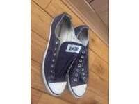Converse trainers blue
