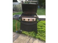 grand canyon hooded 3 burner gas bbq with side burner