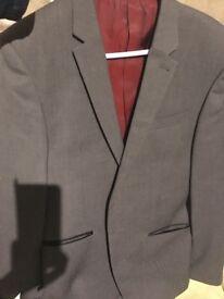 Grey suit 38R