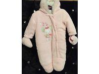 Brand New Bundle of Snowsuits & Winter Babygrow 3-6 Months