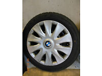 BMW 1 SERIES WINTER / SNOW TYRES INCLUDING WHEELS & TRIMS 16""