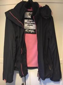2 Superdry Jacket for sale