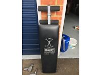 Body Sculpture Sit up bench ab bench Crunch good condition
