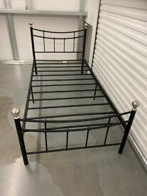 SINGLE METAL BED FRAME. Free delivery!!!