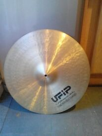 "UFIP Vintage Experience Series 22"" Ride Cymbal"