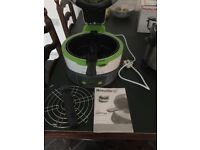 for sale brevile halo health fryer with LCD display comes with instruction book recipes in side