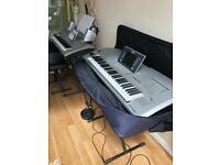Yamaha Tyros 2 electric keyboard organ with cover