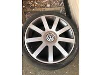 "4 X 18"" Audi Style VW T4 Caddy Wheels"